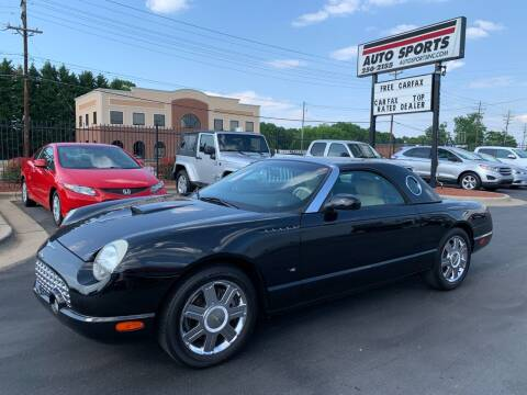 2004 Ford Thunderbird for sale at Auto Sports in Hickory NC