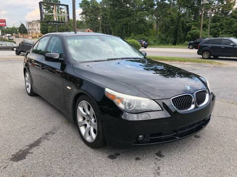 2004 BMW 5 Series for sale at CAR STOP INC in Duluth GA
