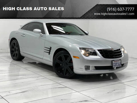 2008 Chrysler Crossfire for sale at HIGH CLASS AUTO SALES in Rancho Cordova CA