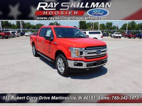 2020 Ford F-150 for sale at Ray Skillman Hoosier Ford in Martinsville IN