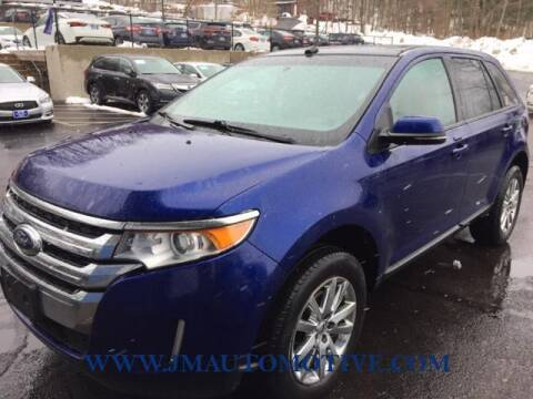 2014 Ford Edge for sale at J & M Automotive in Naugatuck CT