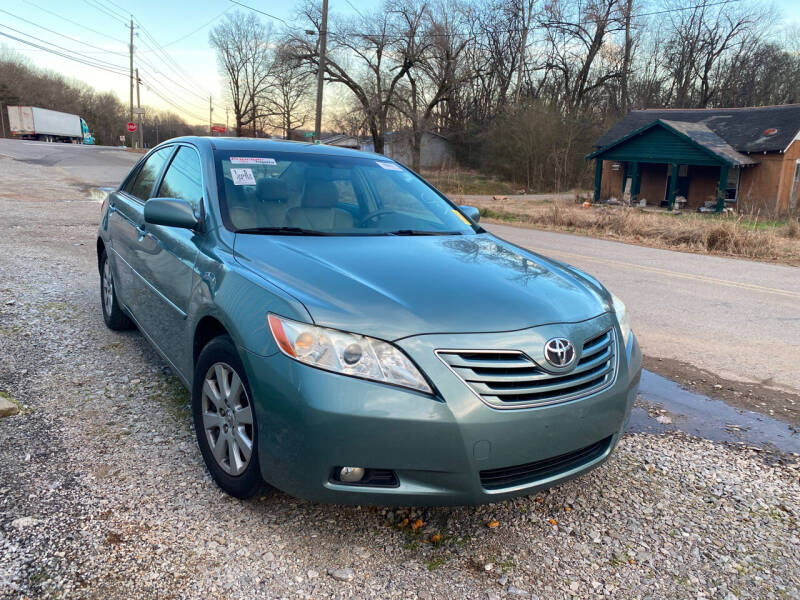 2007 Toyota Camry for sale at Tennessee Valley Wholesale Autos LLC in Huntsville AL