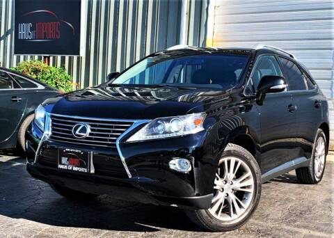 2014 Lexus RX 350 for sale at Haus of Imports in Lemont IL