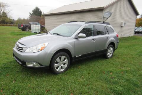 2010 Subaru Outback for sale at Clearwater Motor Car in Jamestown NY