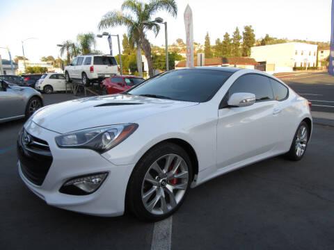 2016 Hyundai Genesis Coupe for sale at Eagle Auto in La Mesa CA