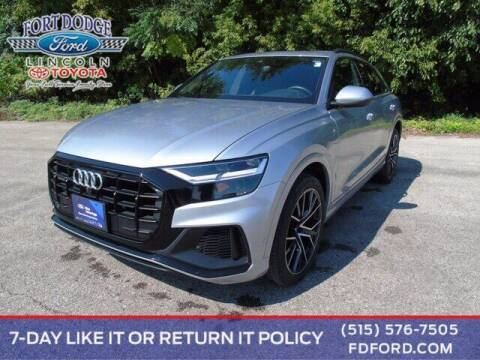 2020 Audi Q8 for sale at Fort Dodge Ford Lincoln Toyota in Fort Dodge IA