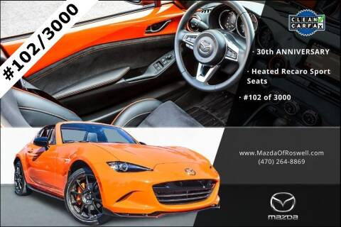 2019 Mazda MX-5 Miata RF for sale at Mazda Of Roswell in Roswell GA