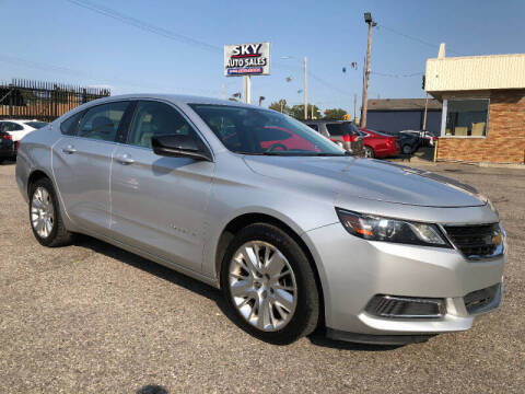 2017 Chevrolet Impala for sale at SKY AUTO SALES in Detroit MI