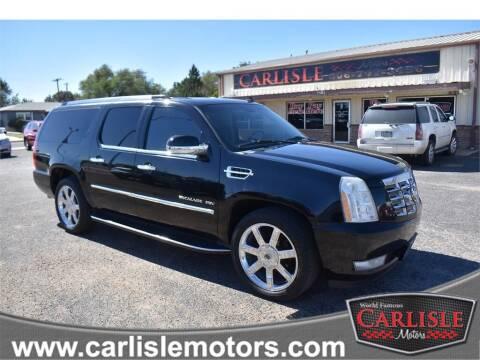 2013 Cadillac Escalade ESV for sale at Carlisle Motors in Lubbock TX