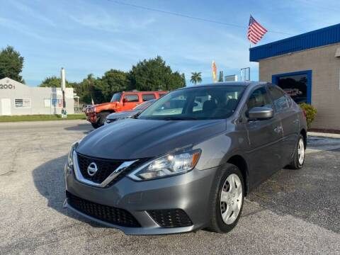 2016 Nissan Sentra for sale at Sunny Florida Cars in Bradenton FL