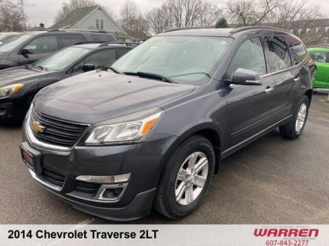 2014 Chevrolet Traverse for sale at Warren Auto Sales in Oxford NY