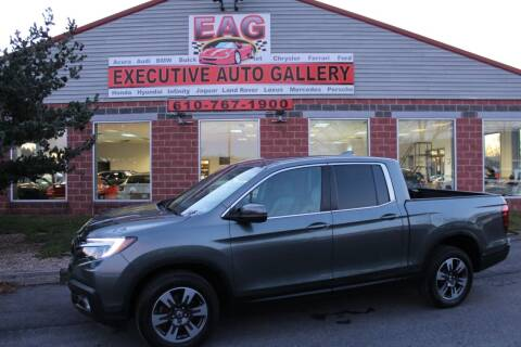 2017 Honda Ridgeline for sale at EXECUTIVE AUTO GALLERY INC in Walnutport PA