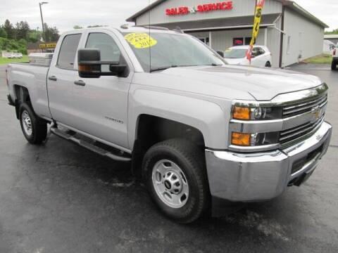 2017 Chevrolet Silverado 2500HD for sale at Thompson Motors LLC in Attica NY