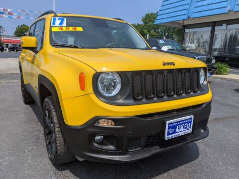 2017 Jeep Renegade for sale at GREAT DEALS ON WHEELS in Michigan City IN