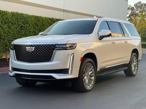 2021 Cadillac Escalade ESV for sale at DieselIt in Laguna Hills CA