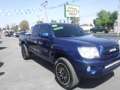 2007 Toyota Tacoma for sale at HILMAR AUTO DEPOT INC. in Hilmar CA