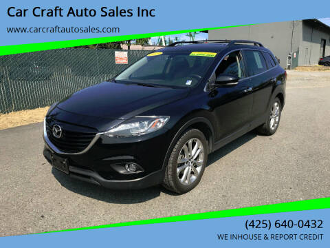 2013 Mazda CX-9 for sale at Car Craft Auto Sales Inc in Lynnwood WA