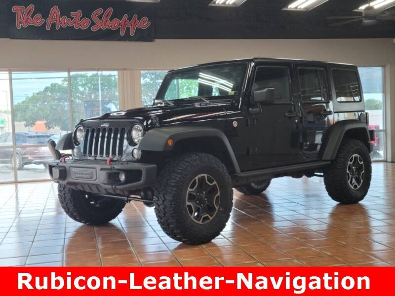 2016 Jeep Wrangler Unlimited for sale at The Auto Shoppe in Springfield MO