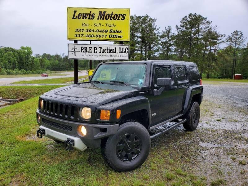 2008 HUMMER H3 for sale at Lewis Motors LLC in Deridder LA