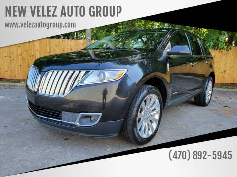 2014 Lincoln MKX for sale at NEW VELEZ AUTO GROUP in Gainesville GA
