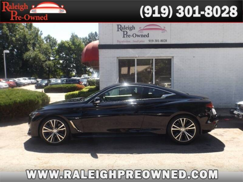 2017 Infiniti Q60 for sale at Raleigh Pre-Owned in Raleigh NC