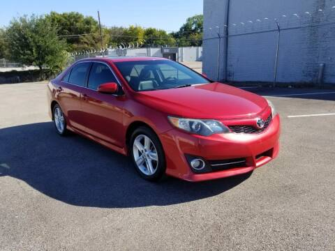 2012 Toyota Camry for sale at Image Auto Sales in Dallas TX
