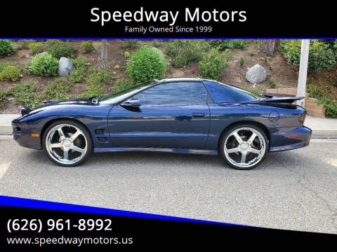 2001 Pontiac Firebird for sale at Speedway Motors in Glendora CA