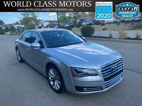 2011 Audi A8 L for sale at World Class Motors LLC in Noblesville IN