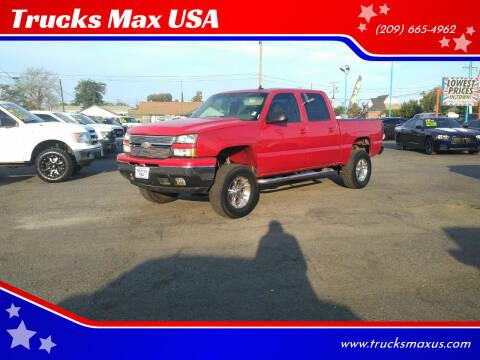 2006 Chevrolet Silverado 1500 for sale at Trucks Max USA in Manteca CA