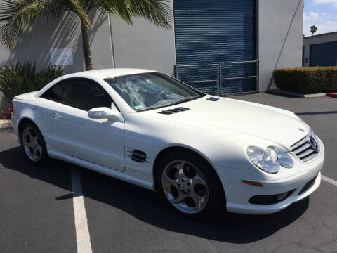 2004 Mercedes-Benz SL-Class for sale at MANGIONE MOTORS ORANGE COUNTY in Costa Mesa CA