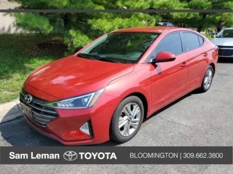 2019 Hyundai Elantra for sale at Sam Leman Toyota Bloomington in Bloomington IL