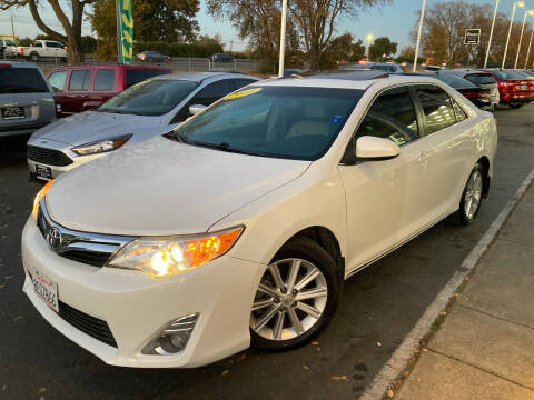 2014 Toyota Camry for sale at Sac River Auto in Davis CA