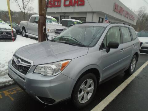 2016 Subaru Forester for sale at Island Auto Buyers in West Babylon NY