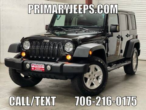2016 Jeep Wrangler Unlimited for sale at Primary Auto Group in Dawsonville GA