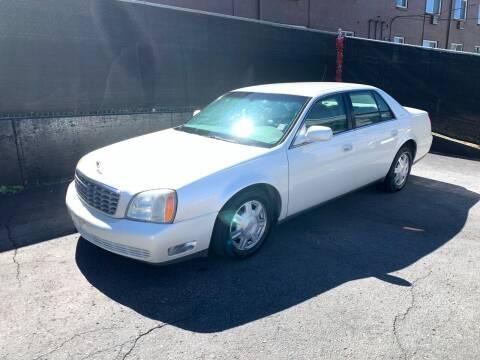 2003 Cadillac DeVille for sale at McManus Motors in Wheat Ridge CO