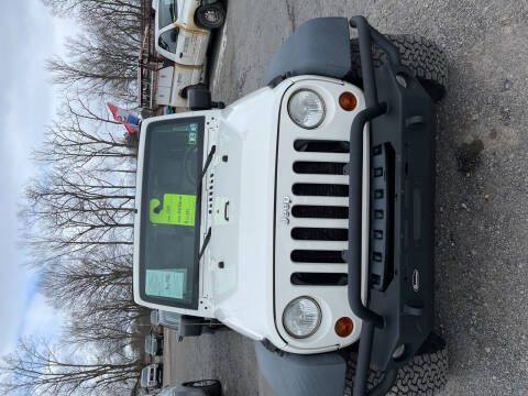 2010 Jeep Wrangler Unlimited for sale at Advantage Auto Sales in Johnstown PA