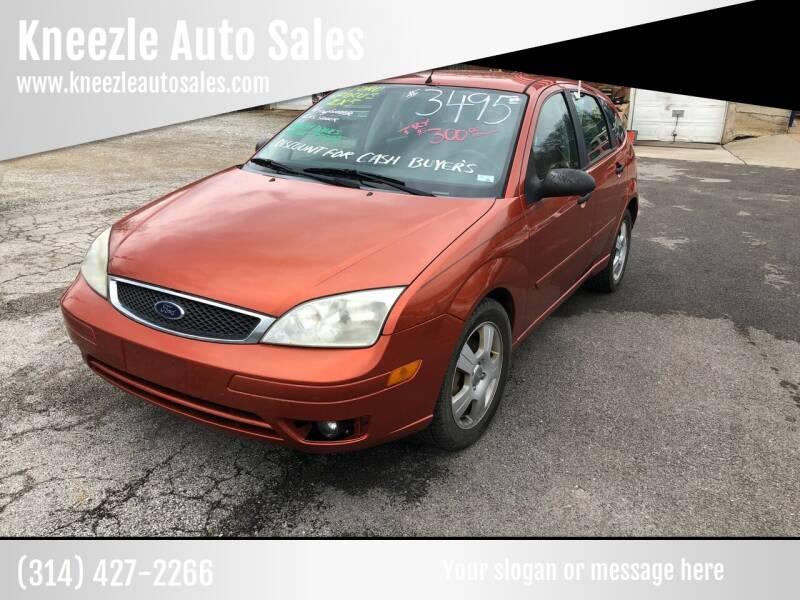 2005 Ford Focus for sale at Kneezle Auto Sales in Saint Louis MO