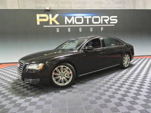 2013 Audi A8 L for sale at PK MOTORS GROUP in Las Vegas NV