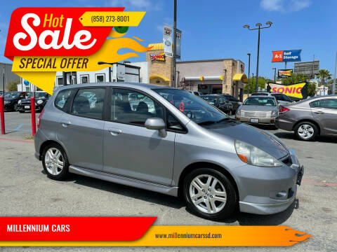 2007 Honda Fit for sale at MILLENNIUM CARS in San Diego CA
