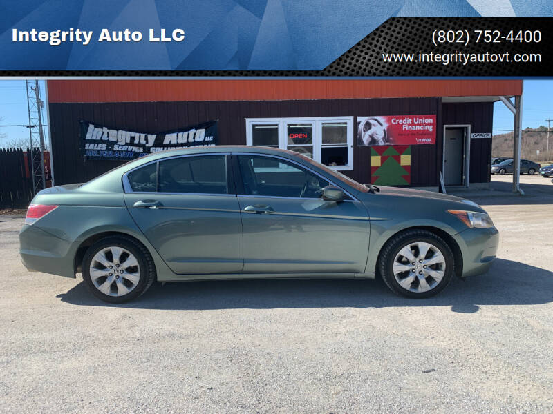 2010 Honda Accord for sale at Integrity Auto LLC - Integrity Auto 2.0 in St. Albans VT