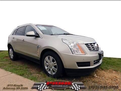 2014 Cadillac SRX for sale at PRIME MOTORS LLC in Arlington VA