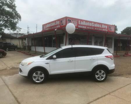 2013 Ford Escape for sale at LA Auto Sales in Monroe LA
