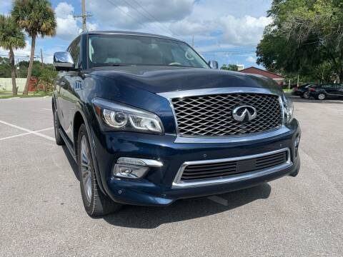 2016 Infiniti QX80 for sale at Consumer Auto Credit in Tampa FL
