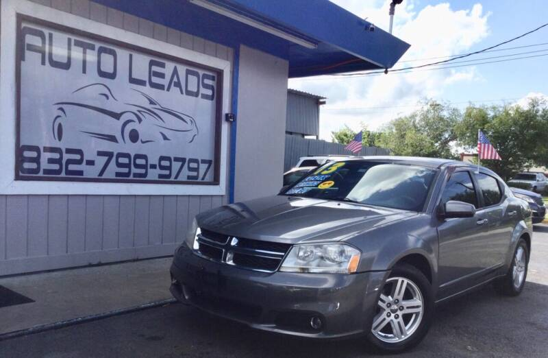 2013 Dodge Avenger for sale at AUTO LEADS in Pasadena TX