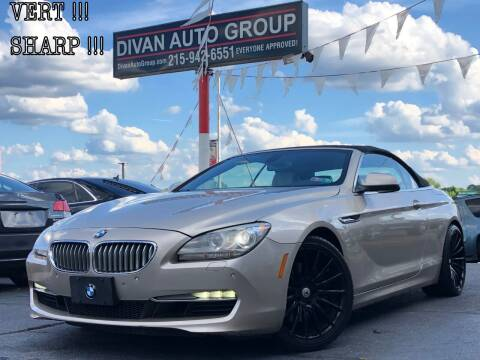 2012 BMW 6 Series for sale at Divan Auto Group in Feasterville PA