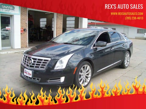 2015 Cadillac XTS for sale at Rex's Auto Sales in Junction City KS