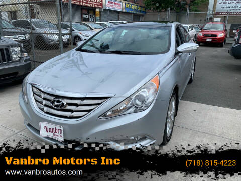 2012 Hyundai Sonata for sale at Vanbro Motors Inc in Staten Island NY