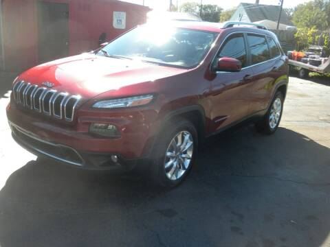 2015 Jeep Cherokee for sale at MASTERS AUTO SALES in Roseville MI