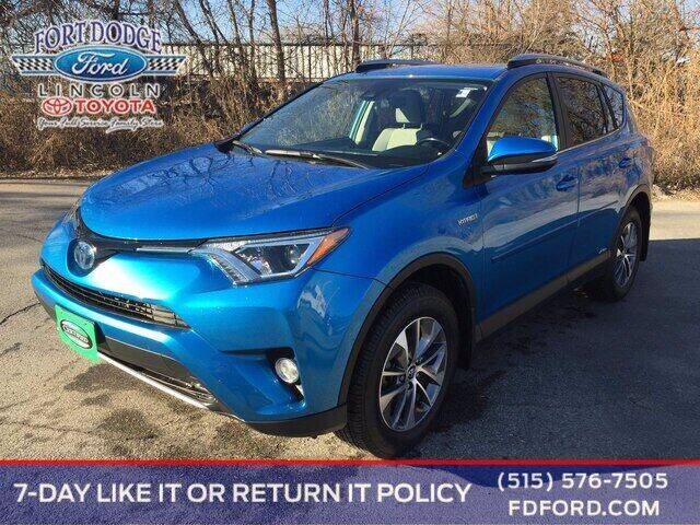 2018 Toyota RAV4 Hybrid for sale at Fort Dodge Ford Lincoln Toyota in Fort Dodge IA