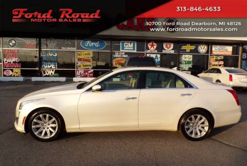 2014 Cadillac CTS for sale at Ford Road Motor Sales in Dearborn MI